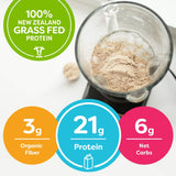 Grass Fed Clean Whey Protein Powder - Vanilla Bean - 1.82 Pound