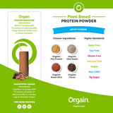 Vegan - Organic Protein Powder - Creamy Chocolate Fudge