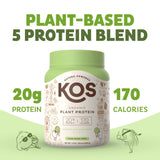 Organic Plant Based Protein Powder - Chocolate Chip Mint