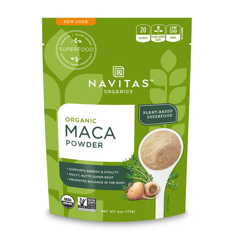 Vegan - Organic Maca Powder - 4 Ounces