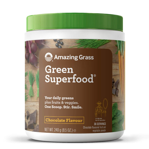 Plant Based - Green Superfood - Chocolate - 30 Servings