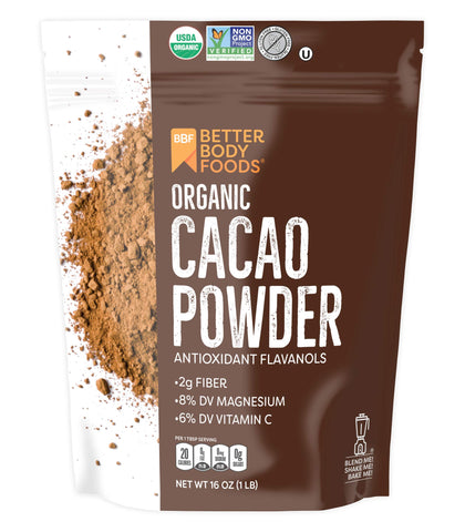Organic - Cacao Powder - Antioxidants - Cocoa