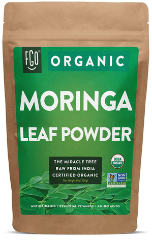 Organic Moringa Leaf Powder - 8 Ounces