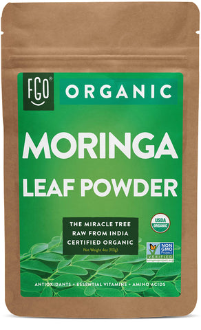 Organic Moringa Leaf Powder - 4 Ounces
