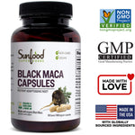 Vegan - Black Maca Capsules - 90 count