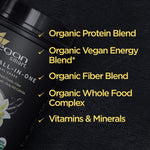 Plant Based - Organic All-in-One Nutritional Shake - Vanilla Creme