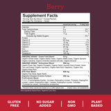 Plant Based - Green Superfood - Berry - 60 Servings