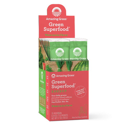 Energy - Green Superfood - Watermelon - 15 Servings