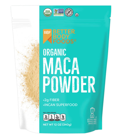 Organic Maca Powder - 12 Ounces