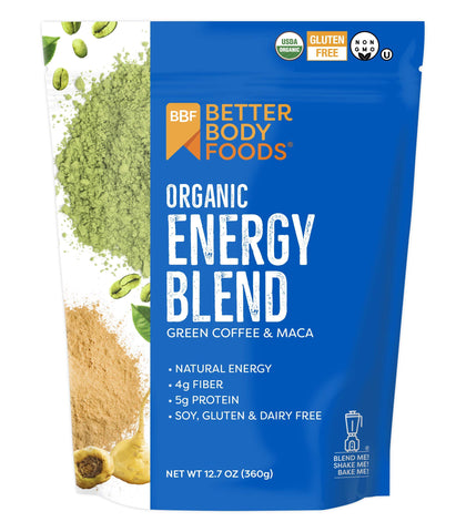 Organic Energy Blend - Green Coffee & Maca - 12.7 Ounces