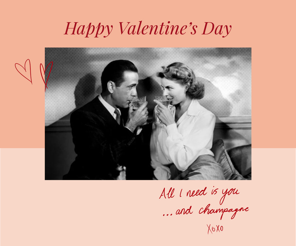 Champagne Love Stories - Happy Valentine's Day 2021!