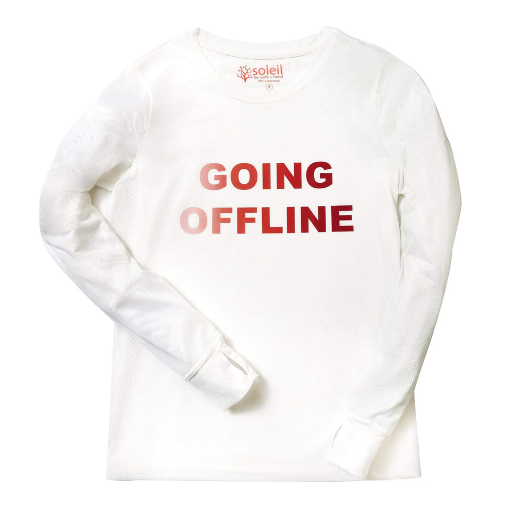 Going Offline Women's Long Sleeve UPF 30 Tee