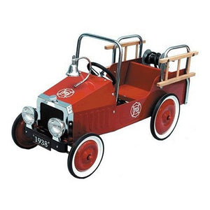 Great Gizmos Pedal Car Fire Engine