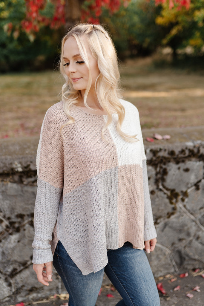 Down the Road Neutral Sweater