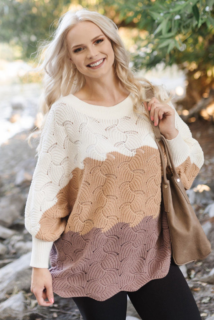 Fall Foliage Dolman Sweater