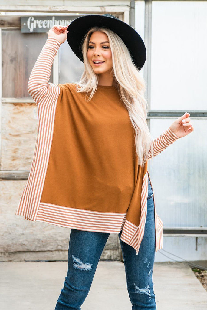 The Best Day Cape Sweater