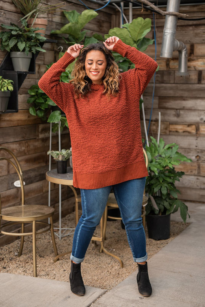 Jump Then Fall Hooded Sweater