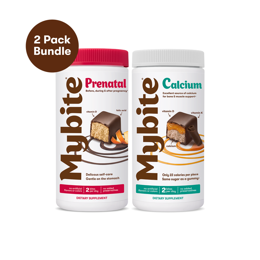 Mybite - Baby on Board - Prenatal and Calcium Chocolate Vitamins