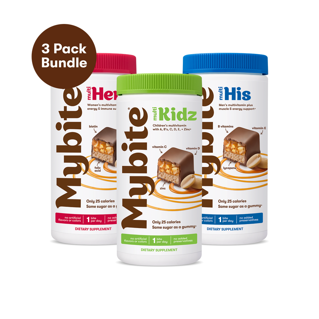 Mybite - Family Plan - Hers, His, and Kids Chocolate Vitamins