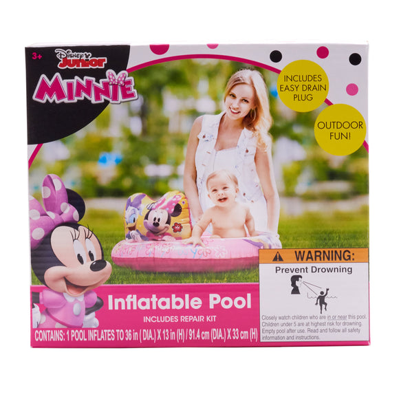 Minnie Inflatable Pool 36in Dia. - My Trending Toys