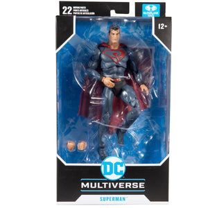 DC Multiverse Red Son Superman 7-Inch Action Figure | My Trending Toys