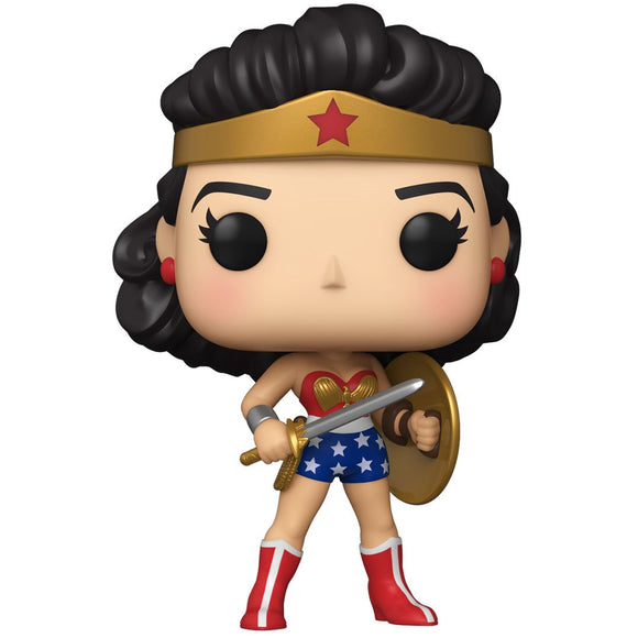 Wonder Woman 80th Anniversary Golden Age (1950's) Pop! Vinyl Figure | My Trending Toys