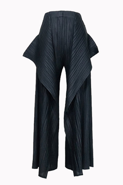 2-Piece Pleats Please Top & Pants