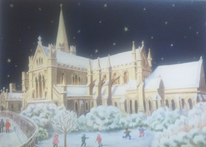 Christmas card from Saint Patrick's Cathedral