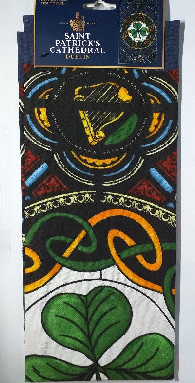 Cathedral T-towel - Shamrock