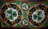 Celtic shamrock poly scarf