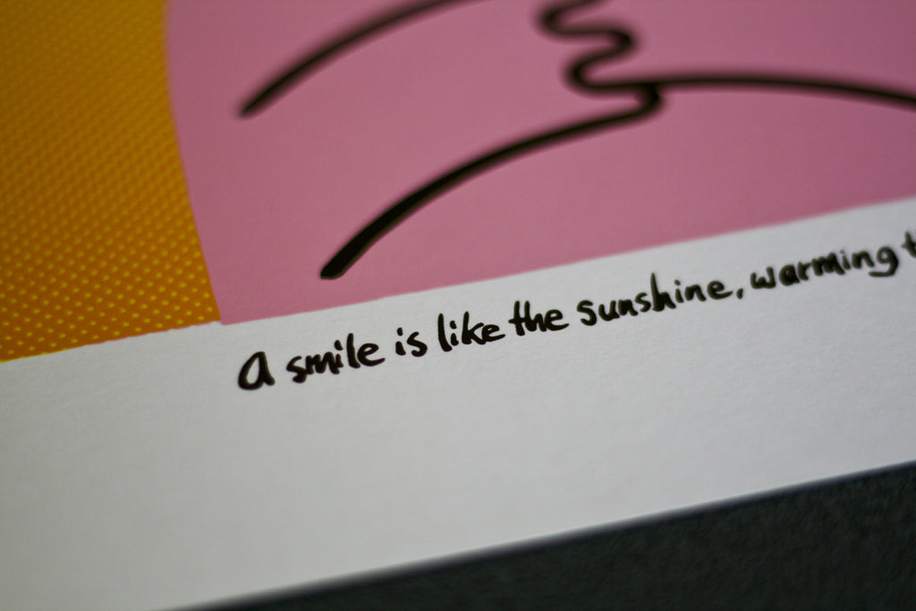 "Dave the Chimp ""A Smile Is Like The Sunshine"" 