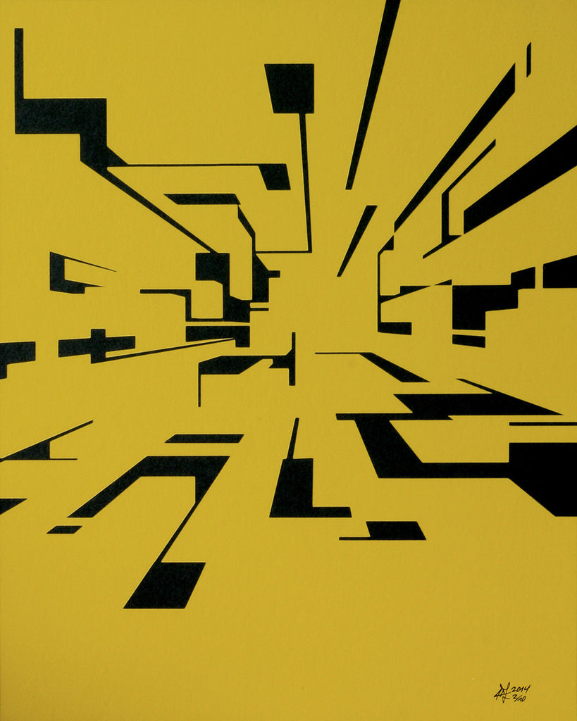 "Heiko Zahlmann ""o.T."" (yellow) 