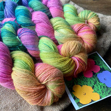 Load image into Gallery viewer, Spring: Andy Warhol Flowers - Alpaca Merino 4 Ply