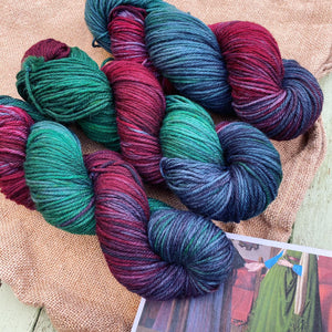 Jan van Eyck The Arnolfini Portrait - Superwash Sock DK
