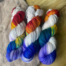 Load image into Gallery viewer, Kandinsky's Rainbow - Superwash Merino 4 ply