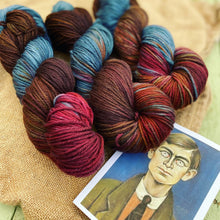 Load image into Gallery viewer, L S Lowry Portrait - Superwash Sock DK