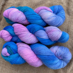 Monet's Water Lilies - Superfine Merino 4 ply