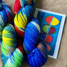 Load image into Gallery viewer, Terry Frost's Moonship 1972 - Superwash Merino 4 ply