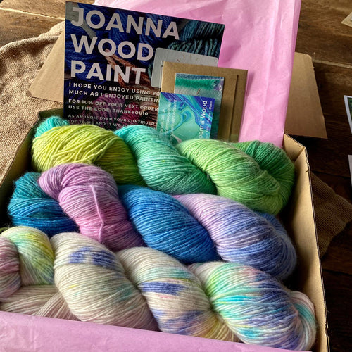 Opposites Attract Box Set - Superfine Merino 4 ply - Joanna Wood Paint