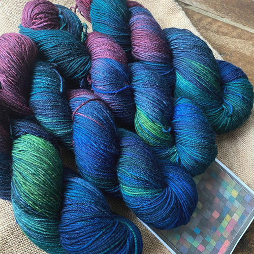 Paul Klee's May Picture - Superwash Merino Sock 4 Ply - Joanna Wood Paint