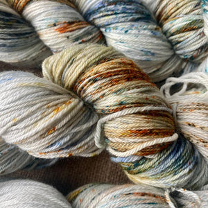 Jackson Pollock's Autumn Rhythm - Superwash Merino 4 ply