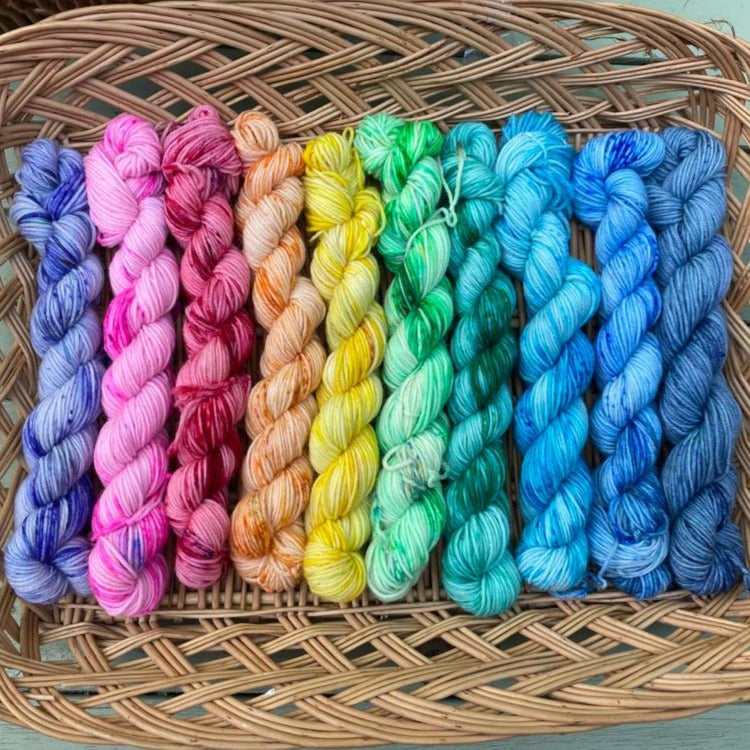 Speckled Rainbow - Mini Skein Set 200g