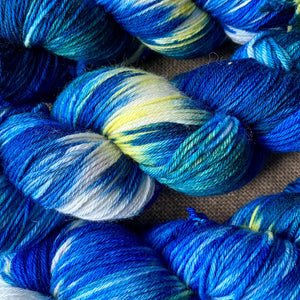 Van Gogh's Starry Night - Superwash Merino 4 ply