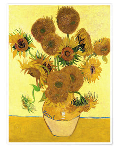 Van Gogh's Sunflowers - British Sock 4 ply