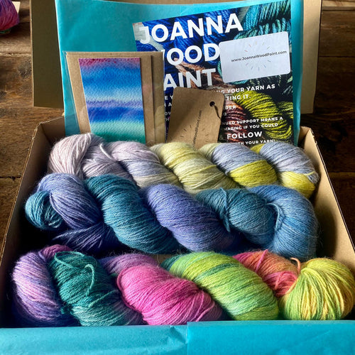 The Floral Box Set - Alpaca Merino 4 Ply - Joanna Wood Paint