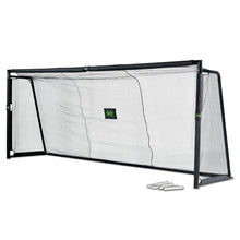 Load image into Gallery viewer, EXIT Forza steel football goal 500x200cm - black