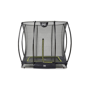 EXIT Silhouette ground trampoline 153x214cm, 214x305cm, 244x366cm with safety net