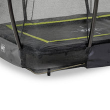 Load image into Gallery viewer, EXIT Silhouette ground trampoline 153x214cm, 214x305cm, 244x366cm with safety net