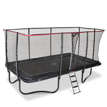 Load image into Gallery viewer, EXIT PeakPro Trampoline 305 x 519cm - Black