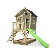 Load image into Gallery viewer, EXIT Crooky 500 wooden playhouse - grey-beige